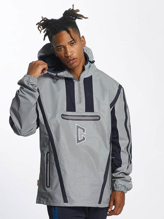 CHABOS IIVII Transitional Jackets Half Zip Hooded grå