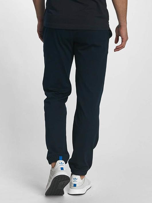Champion Athletics Joggingbukser Elastic Cuff blå