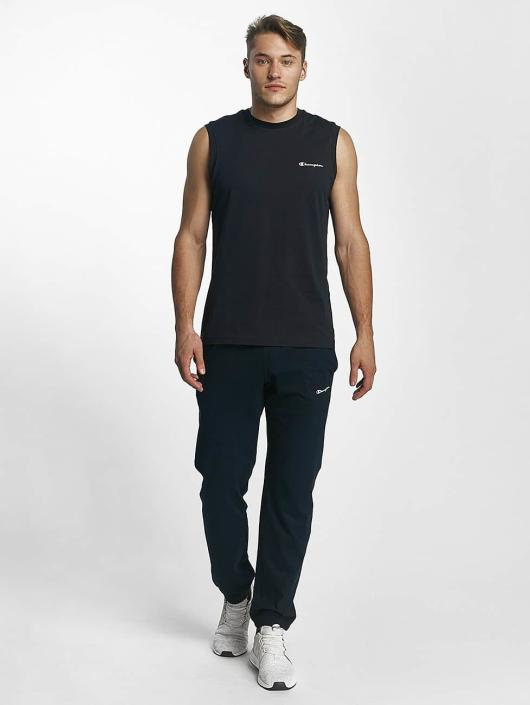 Champion Athletics Joggingbyxor Elastic Cuff blå