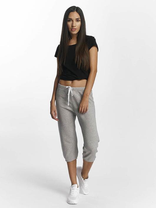 Champion Athletics Pantalón deportivo Apparel 3/4 Elastic Cuff gris