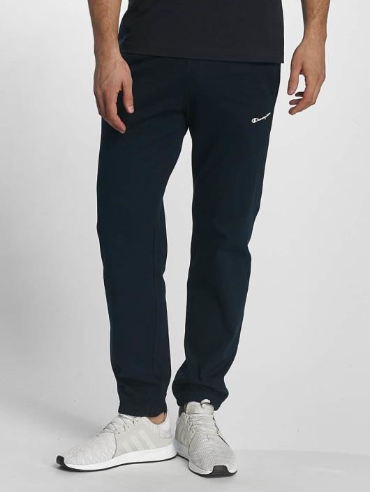Champion Athletics Spodnie do joggingu Elastic Cuff niebieski