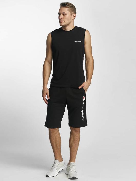 Champion Athletics T-paidat Sleeveless musta
