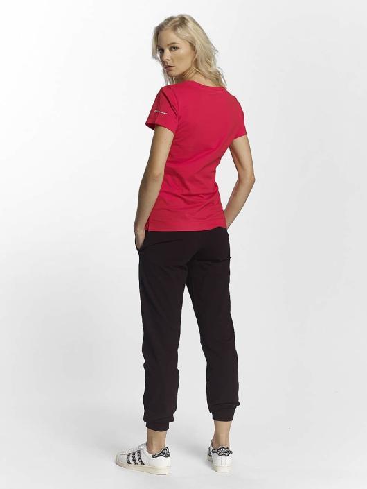 Champion Athletics T-paidat V-Neck T-Shirt Llr punainen