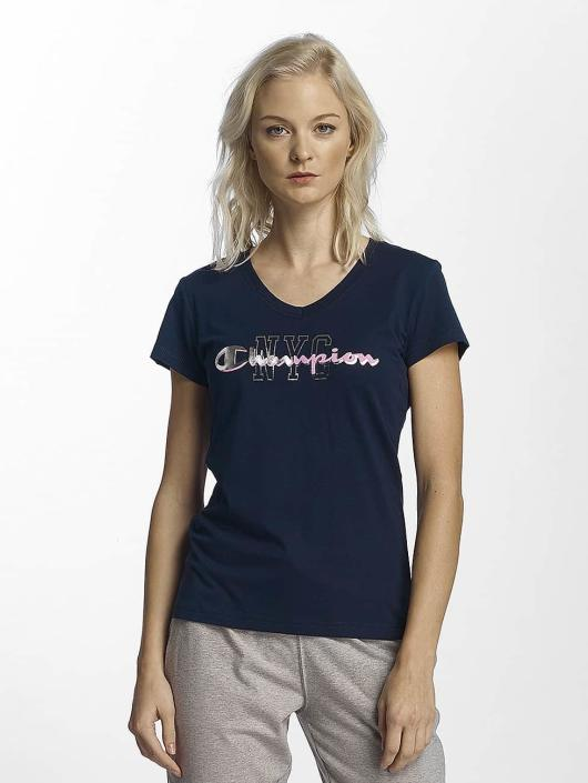 Champion Athletics T-shirt NYC blå