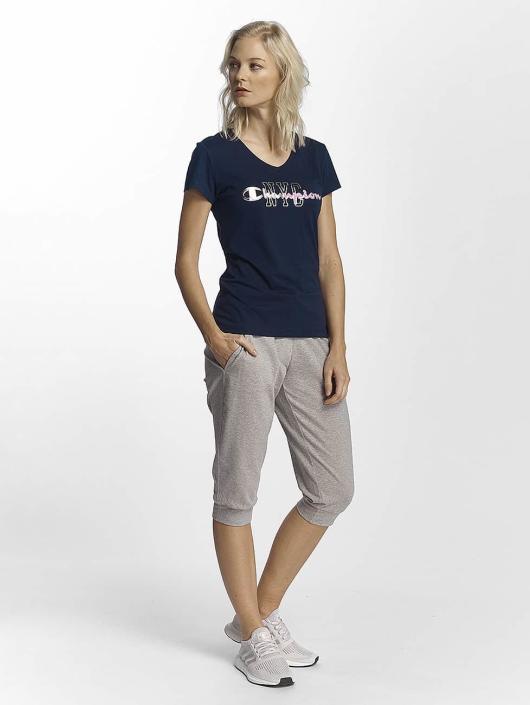Champion Athletics T-Shirt NYC blau