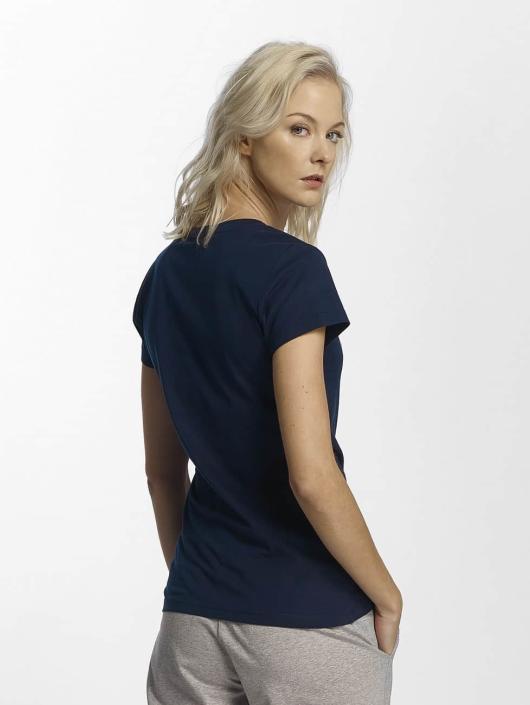 Champion Athletics t-shirt NYC blauw
