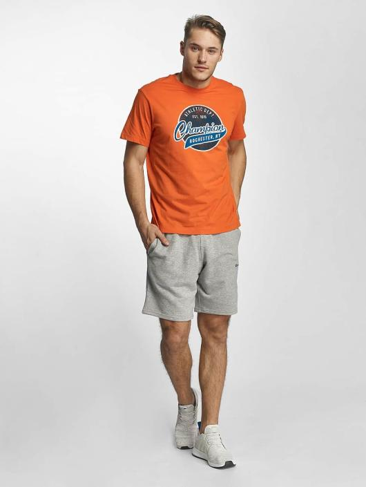 Champion Athletics t-shirt Bryant Park oranje