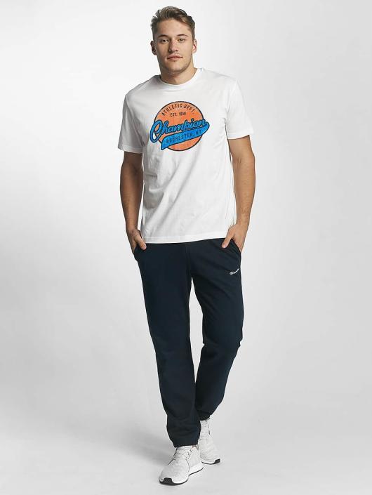 Champion Athletics t-shirt Logo wit