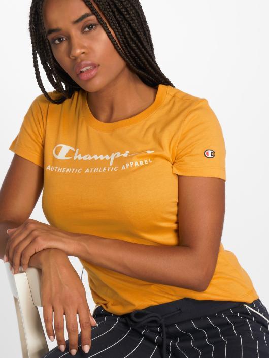 Champion Athletics T-Shirt Brand Passion yellow