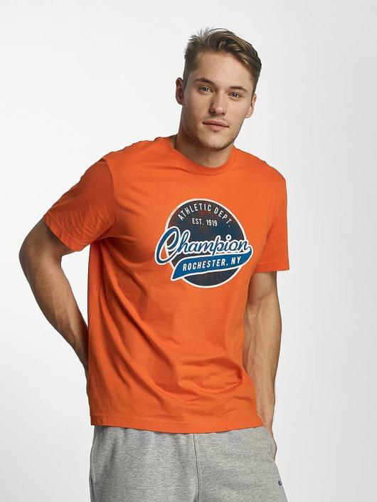 Champion Athletics T-Shirty Bryant Park pomaranczowy