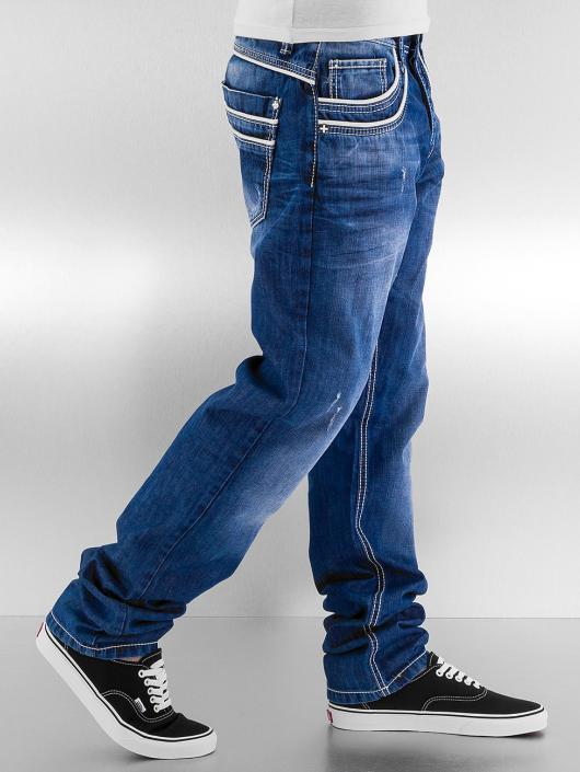 Cipo & Baxx Dżinsy straight fit Simba niebieski