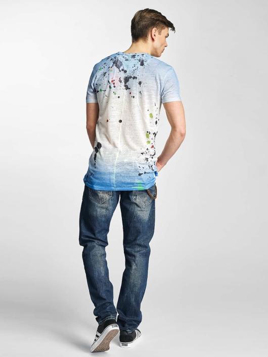 Cipo & Baxx Dżinsy straight fit Shaquan niebieski