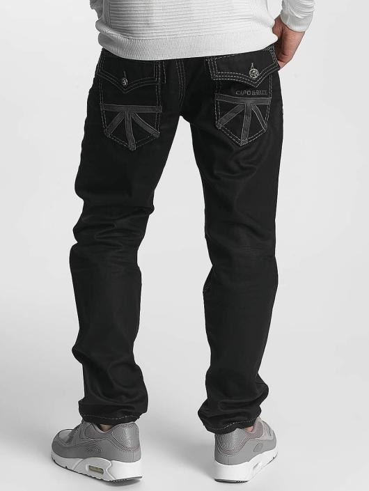 Cipo & Baxx Jean coupe droite Zachary noir