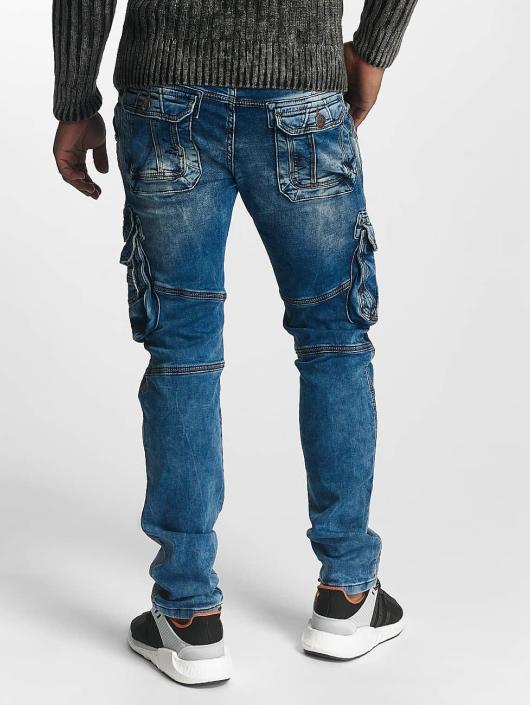 Cipo & Baxx Loose fit jeans Jack blauw