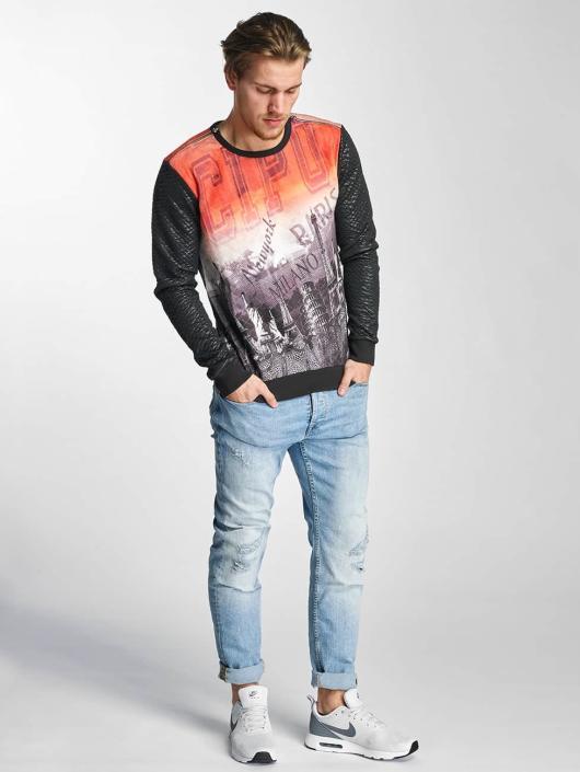 Cipo & Baxx Pullover NY schwarz
