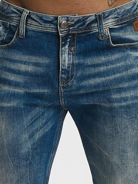 Cipo & Baxx Slim Fit Jeans Hug modrý