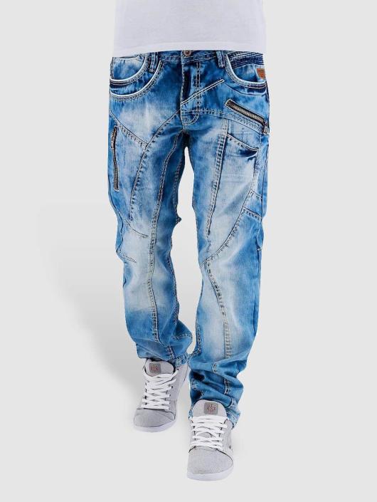 Cipo & Baxx Straight Fit Jeans Sinno blau