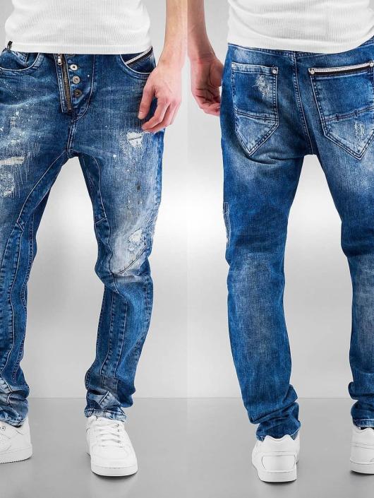 Cipo & Baxx Straight Fit Jeans Assisi blau