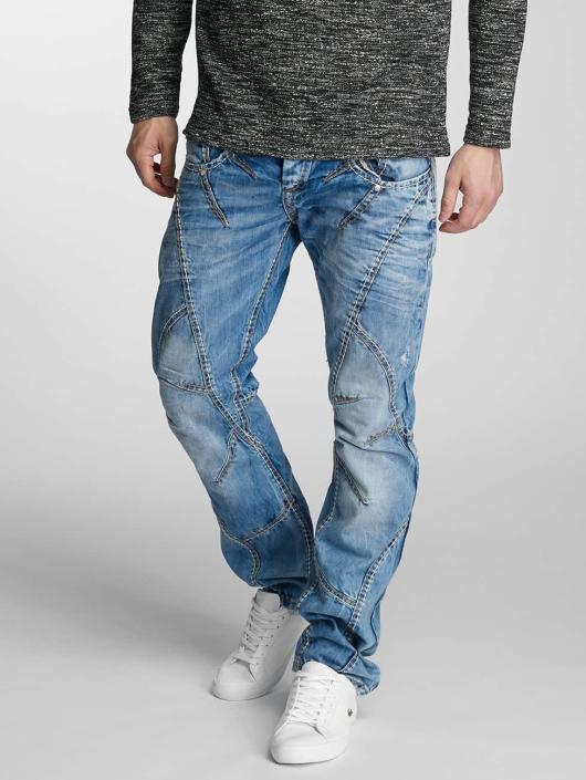 Cipo & Baxx Straight Fit Jeans Flatey blau