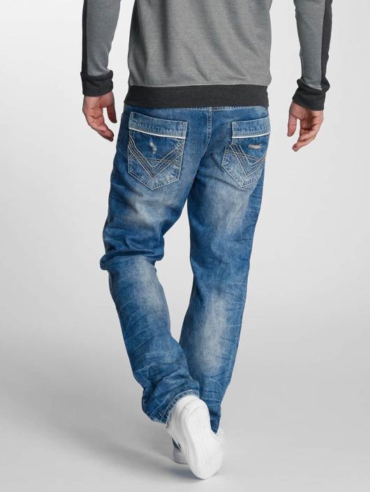 Cipo & Baxx Straight Fit Jeans Vogar blau