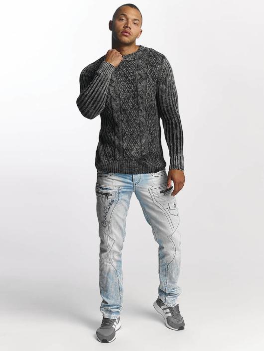 Cipo & Baxx Straight fit jeans James blauw