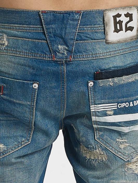 Cipo & Baxx Straight fit jeans Mojo blauw