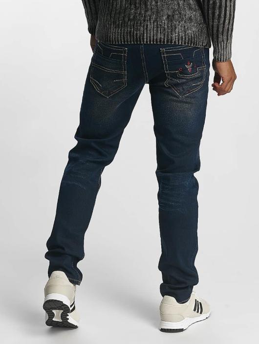 Cipo & Baxx Straight fit jeans Jacob blauw