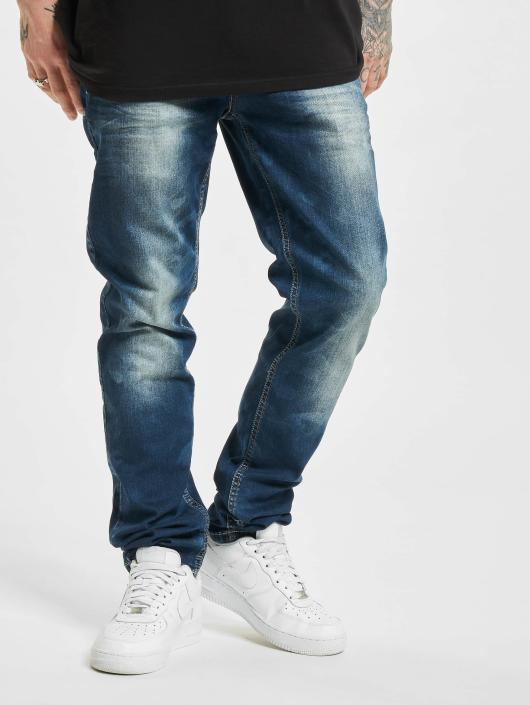 Cipo & Baxx Straight Fit Jeans Camo blue