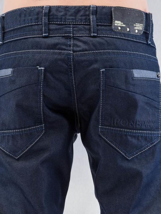 Cipo & Baxx Straight Fit Jeans Tight blue