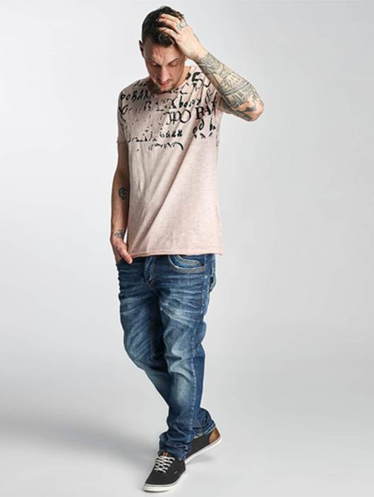 Cipo & Baxx Straight Fit Jeans Engels blue