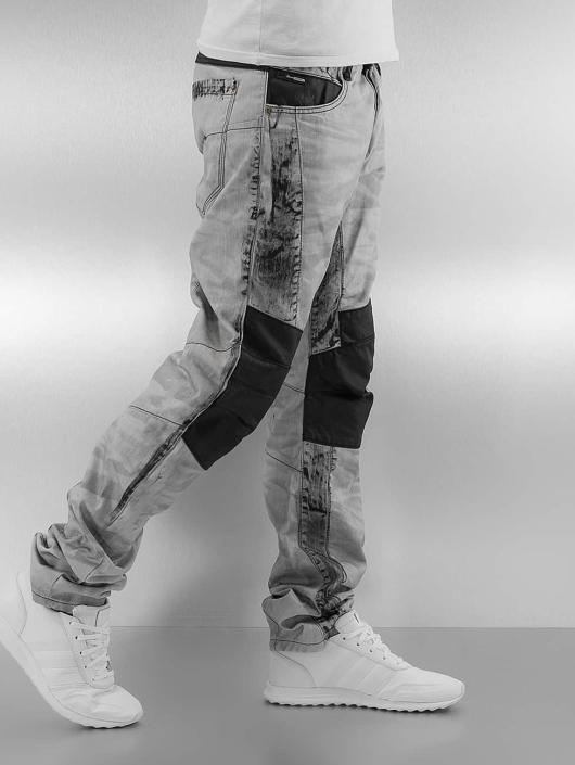 Cipo & Baxx Straight Fit Jeans Kobbi grey
