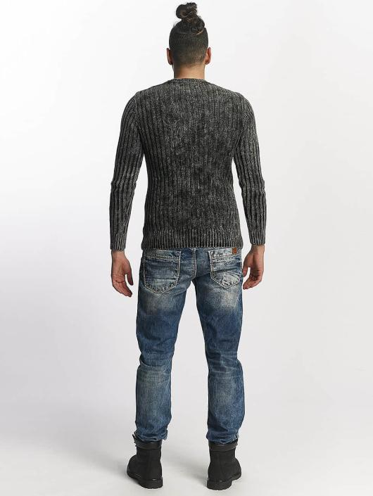 Cipo & Baxx Straight Fit Jeans Used modrý