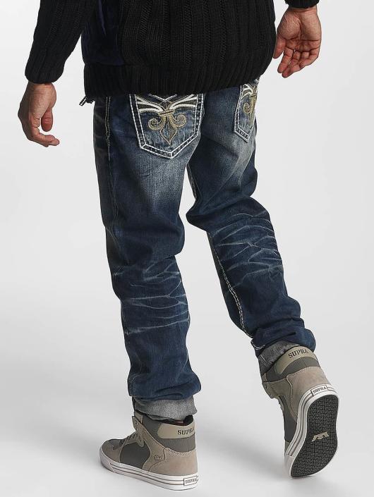 Cipo & Baxx Straight Fit Jeans Damian modrý
