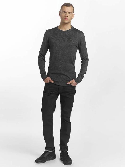 cipo baxx herren straight fit jeans pekka in schwarz 459043. Black Bedroom Furniture Sets. Home Design Ideas