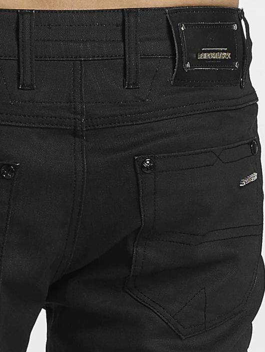 Cipo & Baxx Straight fit jeans Pekka zwart