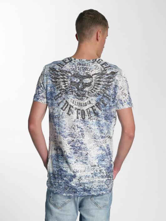 Cipo & Baxx T-Shirty Ride Forever niebieski