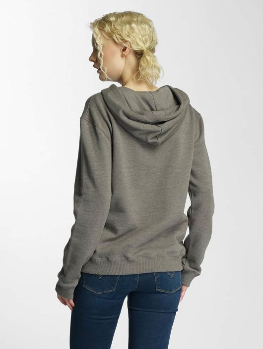 Cleptomanicx Hoody Floral Box olive