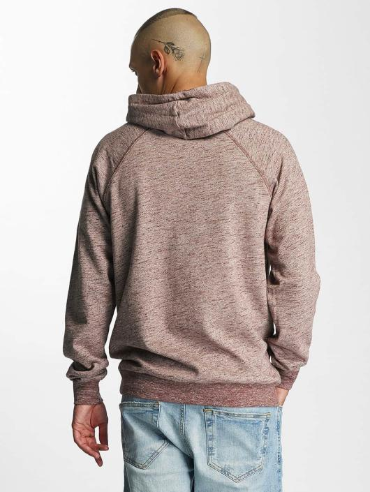 Cleptomanicx Hoody Vintage Embroidery rot