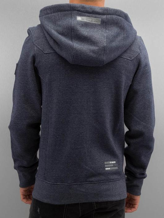 Cordon Sweat capuche zippé Dimi bleu