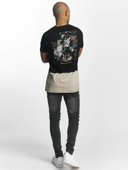 Criminal Damage Camiseta Make Money negro