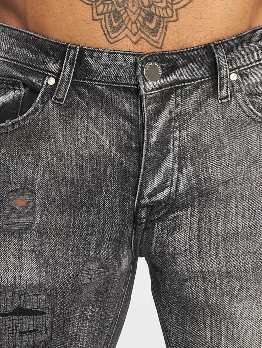 Criminal Damage Jean skinny Carter gris