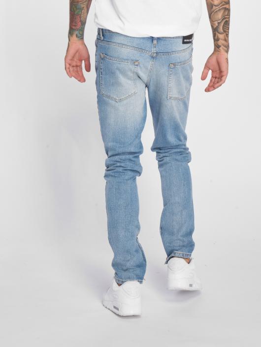 Criminal Damage Jean slim Uzi bleu