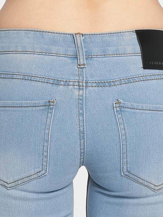 Criminal Damage Skinny Jeans Bella blau
