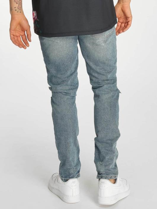 Criminal Damage Skinny Jeans Carter blue