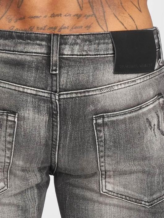 Criminal Damage Skinny Jeans Carter gray