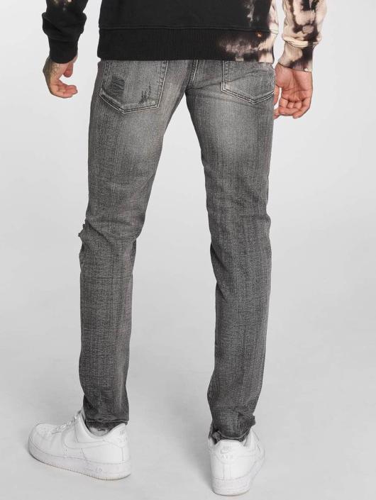 Criminal Damage Skinny Jeans Carter grey