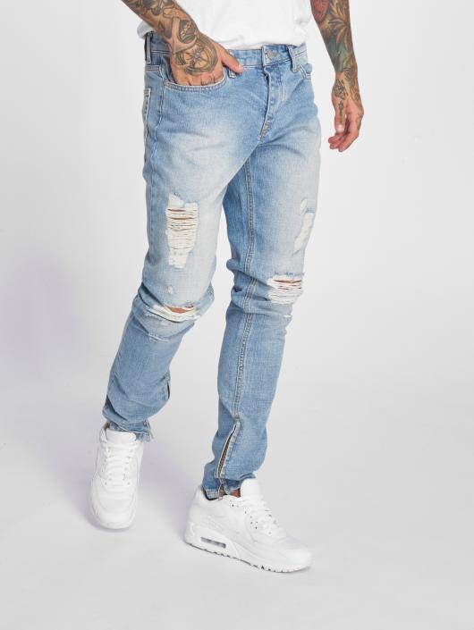 Criminal Damage Slim Fit Jeans Uzi blau