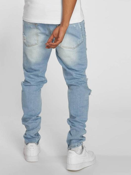 Criminal Damage Straight Fit Jeans Carter blau