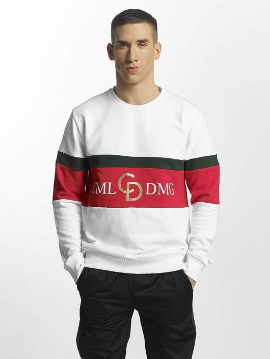 Criminal Damage Sweat & Pull Dolfo Logo blanc