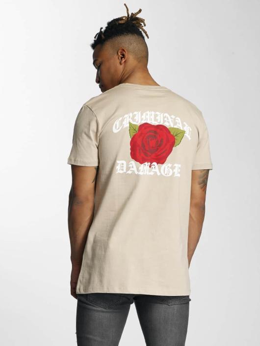 Criminal Damage T-Shirt Rothko beige